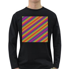 Spectrum Psychedelic Long Sleeve Dark T Shirts