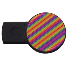 Spectrum Psychedelic Usb Flash Drive Round (4 Gb)
