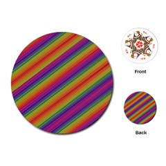 Spectrum Psychedelic Playing Cards (round)