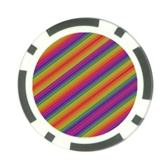 Spectrum Psychedelic Poker Chip Card Guard (10 Pack)