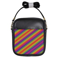 Spectrum Psychedelic Girls Sling Bags