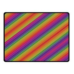 Spectrum Psychedelic Fleece Blanket (small)