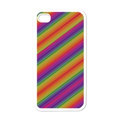 Spectrum Psychedelic Apple Iphone 4 Case (white)