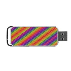Spectrum Psychedelic Portable Usb Flash (one Side)