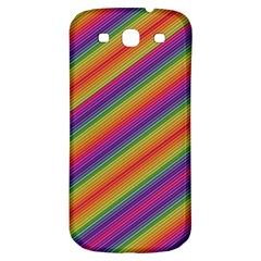 Spectrum Psychedelic Samsung Galaxy S3 S Iii Classic Hardshell Back Case