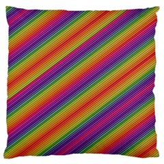 Spectrum Psychedelic Large Flano Cushion Case (two Sides)