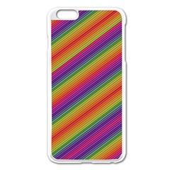 Spectrum Psychedelic Apple Iphone 6 Plus/6s Plus Enamel White Case