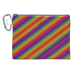 Spectrum Psychedelic Canvas Cosmetic Bag (xxl)