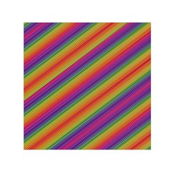 Spectrum Psychedelic Small Satin Scarf (square)
