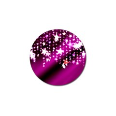 Background Christmas Star Advent Golf Ball Marker