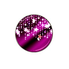 Background Christmas Star Advent Hat Clip Ball Marker (4 Pack)