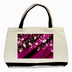 Background Christmas Star Advent Basic Tote Bag