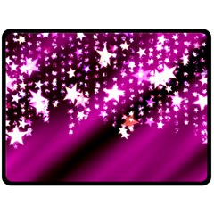 Background Christmas Star Advent Fleece Blanket (large)