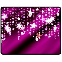 Background Christmas Star Advent Fleece Blanket (medium)