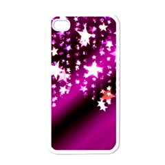 Background Christmas Star Advent Apple Iphone 4 Case (white)
