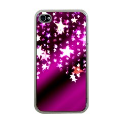 Background Christmas Star Advent Apple Iphone 4 Case (clear)
