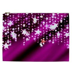 Background Christmas Star Advent Cosmetic Bag (xxl)