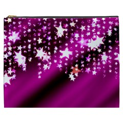 Background Christmas Star Advent Cosmetic Bag (xxxl)
