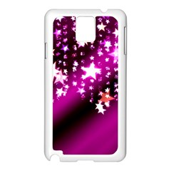 Background Christmas Star Advent Samsung Galaxy Note 3 N9005 Case (white)