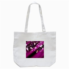 Background Christmas Star Advent Tote Bag (white)
