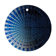 Data Computer Internet Online Ornament (round)
