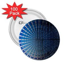 Data Computer Internet Online 2 25  Buttons (100 Pack)