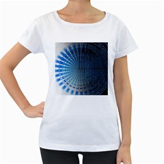 Data Computer Internet Online Women s Loose Fit T Shirt (white)