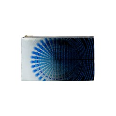 Data Computer Internet Online Cosmetic Bag (small)