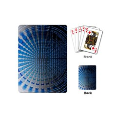 Data Computer Internet Online Playing Cards (mini)