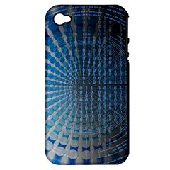 Data Computer Internet Online Apple Iphone 4/4s Hardshell Case (pc+silicone)
