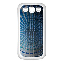 Data Computer Internet Online Samsung Galaxy S3 Back Case (white)