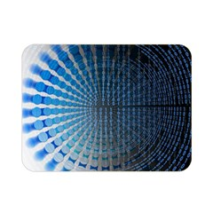 Data Computer Internet Online Double Sided Flano Blanket (mini)