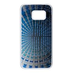 Data Computer Internet Online Samsung Galaxy S7 White Seamless Case