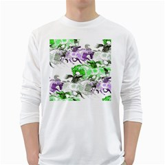 Horse Horses Animal World Green White Long Sleeve T Shirts