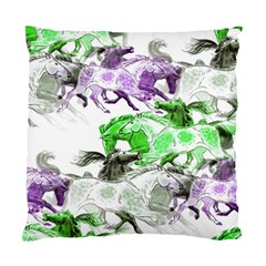 Horse Horses Animal World Green Standard Cushion Case (two Sides)