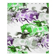 Horse Horses Animal World Green Shower Curtain 60  X 72  (medium)
