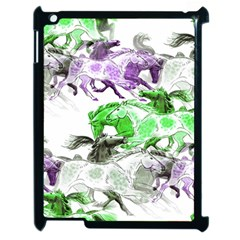 Horse Horses Animal World Green Apple Ipad 2 Case (black)