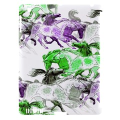 Horse Horses Animal World Green Apple Ipad 3/4 Hardshell Case (compatible With Smart Cover)