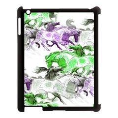 Horse Horses Animal World Green Apple Ipad 3/4 Case (black)