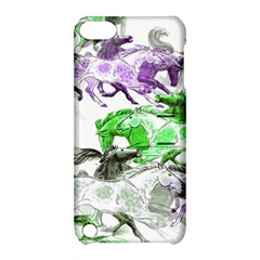 Horse Horses Animal World Green Apple Ipod Touch 5 Hardshell Case With Stand