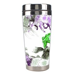 Horse Horses Animal World Green Stainless Steel Travel Tumblers