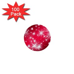 Christmas Star Advent Background 1  Mini Buttons (100 Pack)
