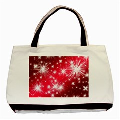Christmas Star Advent Background Basic Tote Bag (two Sides)