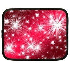 Christmas Star Advent Background Netbook Case (large)