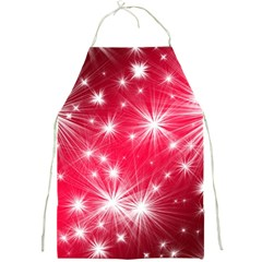 Christmas Star Advent Background Full Print Aprons