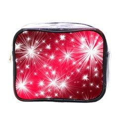 Christmas Star Advent Background Mini Toiletries Bags