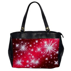 Christmas Star Advent Background Office Handbags