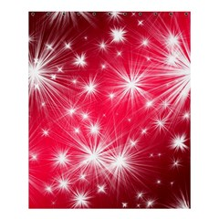 Christmas Star Advent Background Shower Curtain 60  X 72  (medium)