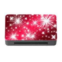 Christmas Star Advent Background Memory Card Reader With Cf