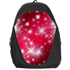 Christmas Star Advent Background Backpack Bag